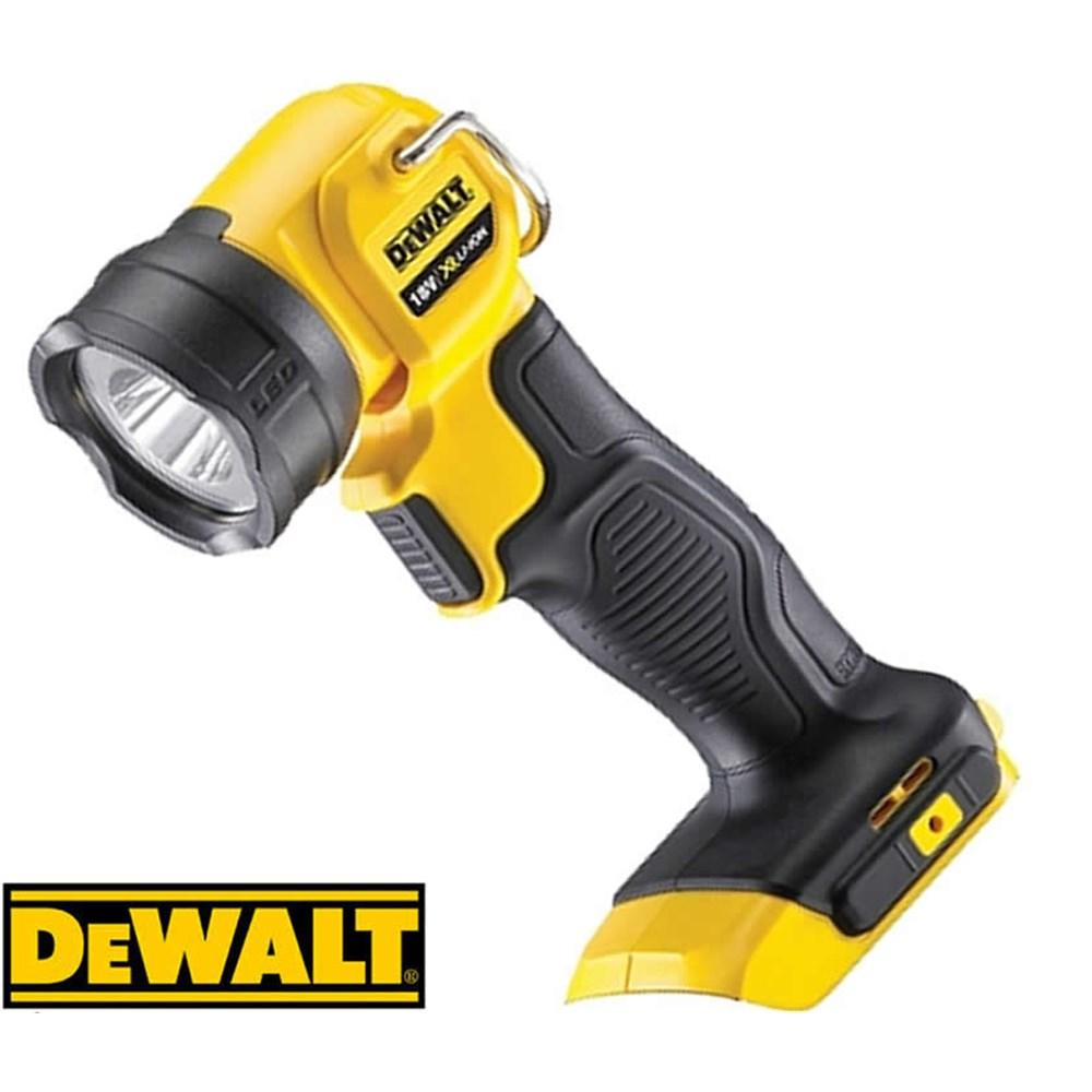 Dewalt 18v Li Ion L E D Light 110 Lumens Rotating Head