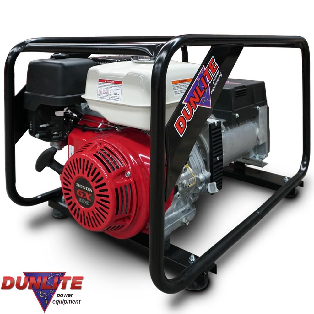 Dunlite 8 0kva generator honda gx390 petrol engine for Honda gx390 oil capacity