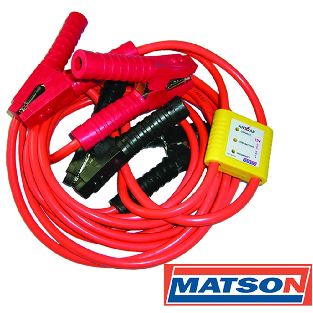 Matson Jumper Leads Heavy Duty 700amp With Surge Protector