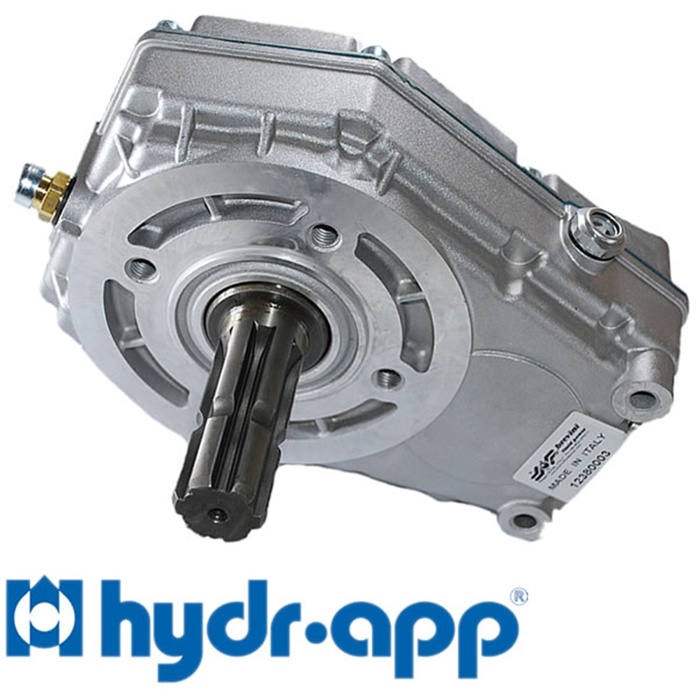 Hyd Pump Step Up Gearbox Grp3 Din Grp3 Ratio 3 0 1 1 3