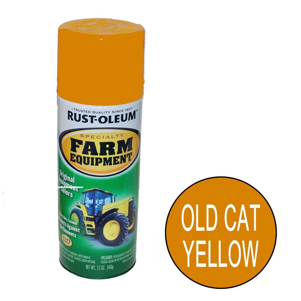rust oleum cat yellow 340g farm equipment enamel. Black Bedroom Furniture Sets. Home Design Ideas