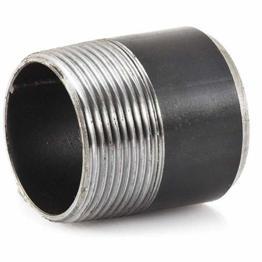 Black Steel Bsp Toe Nipple M Bspt M 1 1 2 Collier Miller