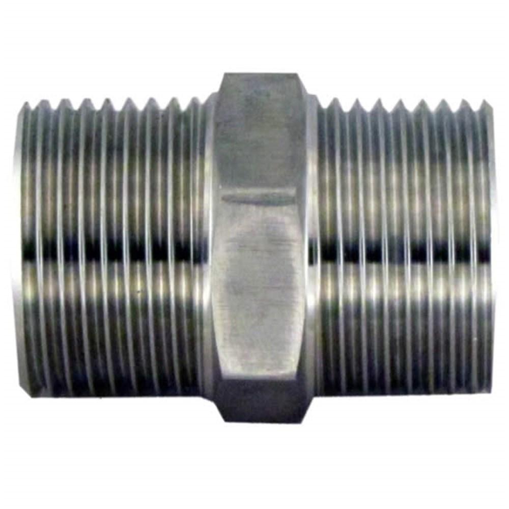 Stainless Steel Bsp Nipple M M Bspt M 1 1 2 Collier Miller