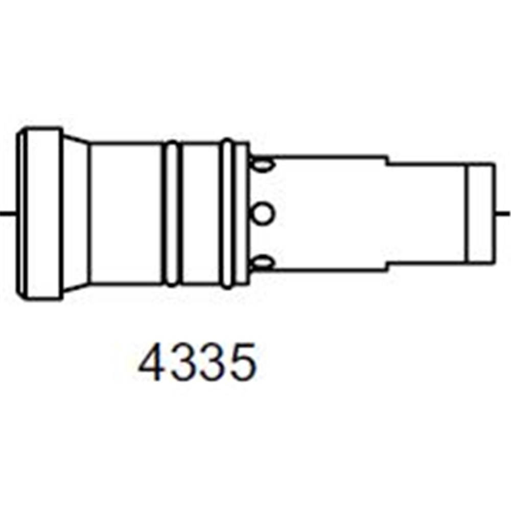 Bernard Head Assembly Sml 300 Amp Mig Gun Collier Miller
