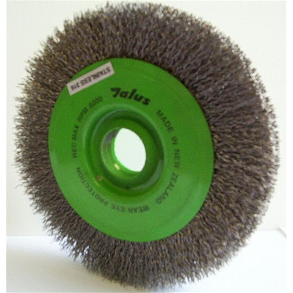 Superb 200Mm Crimped Wire S S Wheel Suit 200Mm Bench Grinder Alphanode Cool Chair Designs And Ideas Alphanodeonline