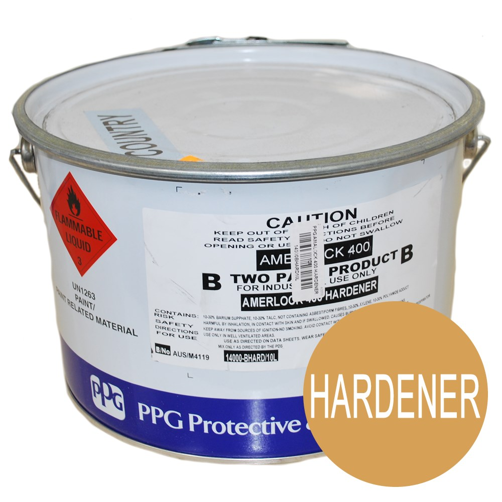 PPG AMERLOCK 400 HARDENER 10L PAVING FLOOR FOOD GRADE GRAPE TANK