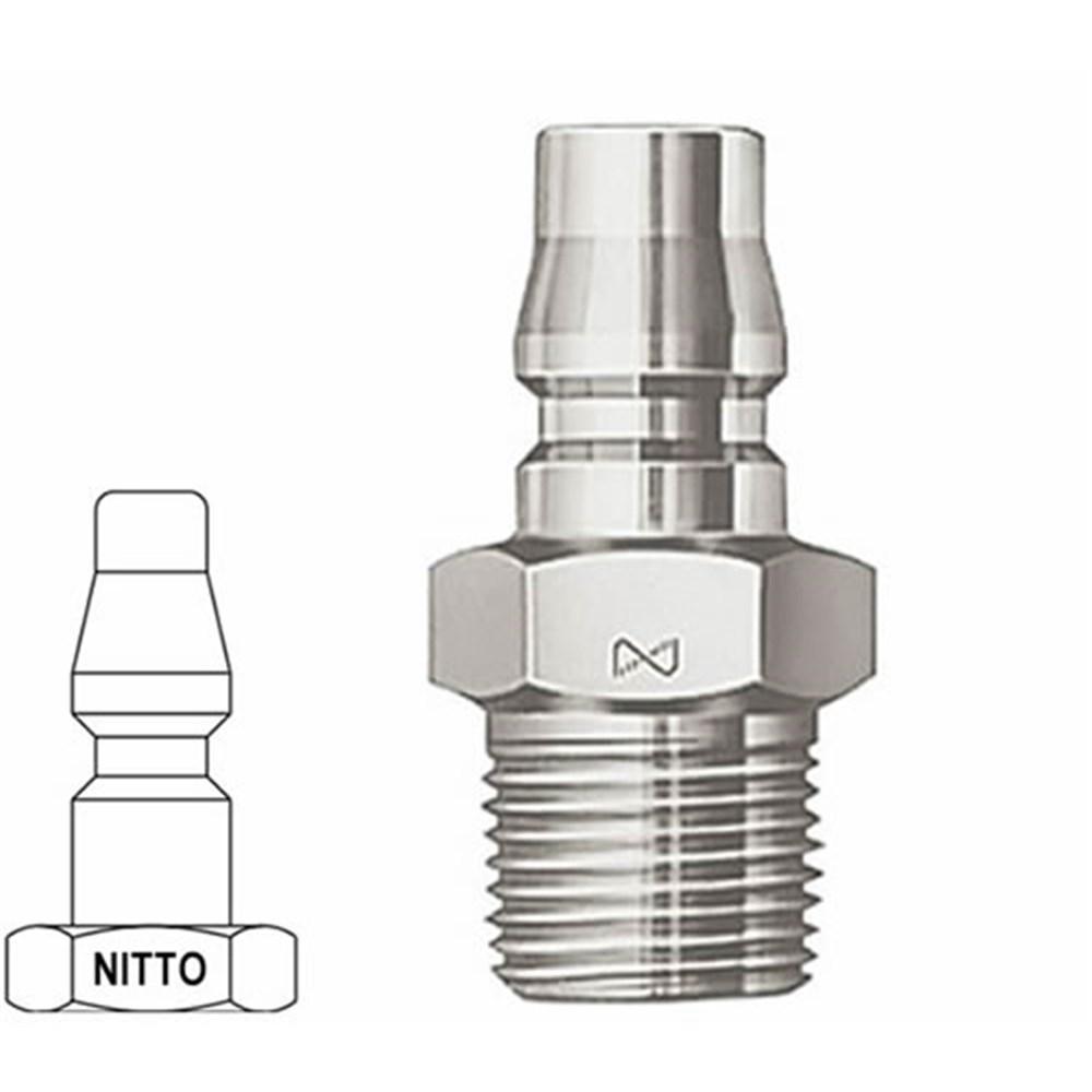 Air Nipple Nitto Hi Cupla M Bspt M 1 4 X Male Air Nipple