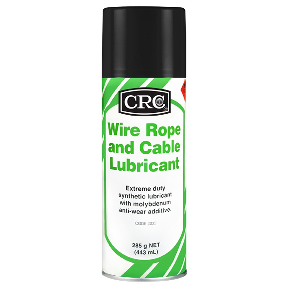 CRC WIRE ROPE LUBE 285G CABLE AND ROPE LUBRICANT - Collier Miller