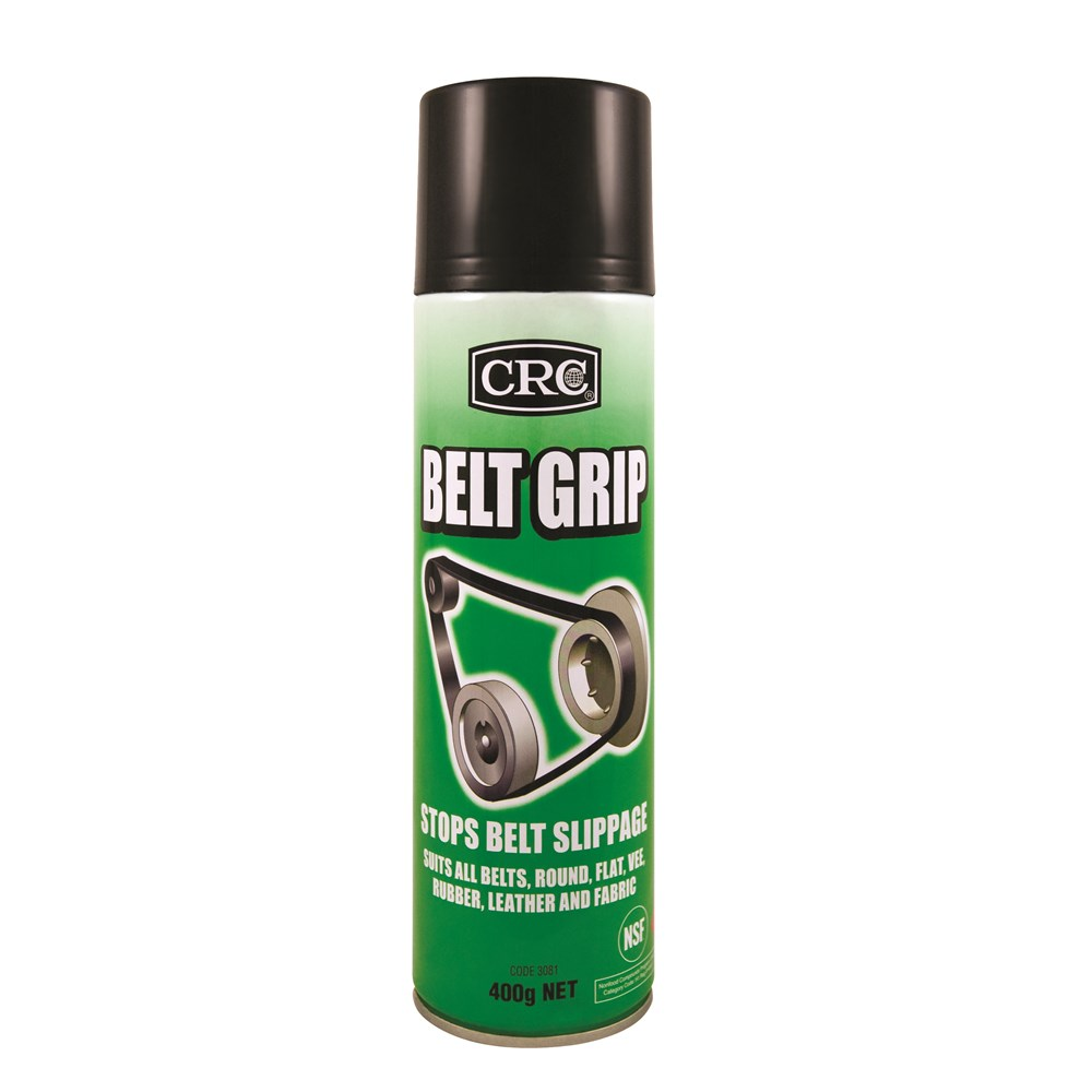 crc belt grip 400g belt dressing collier miller