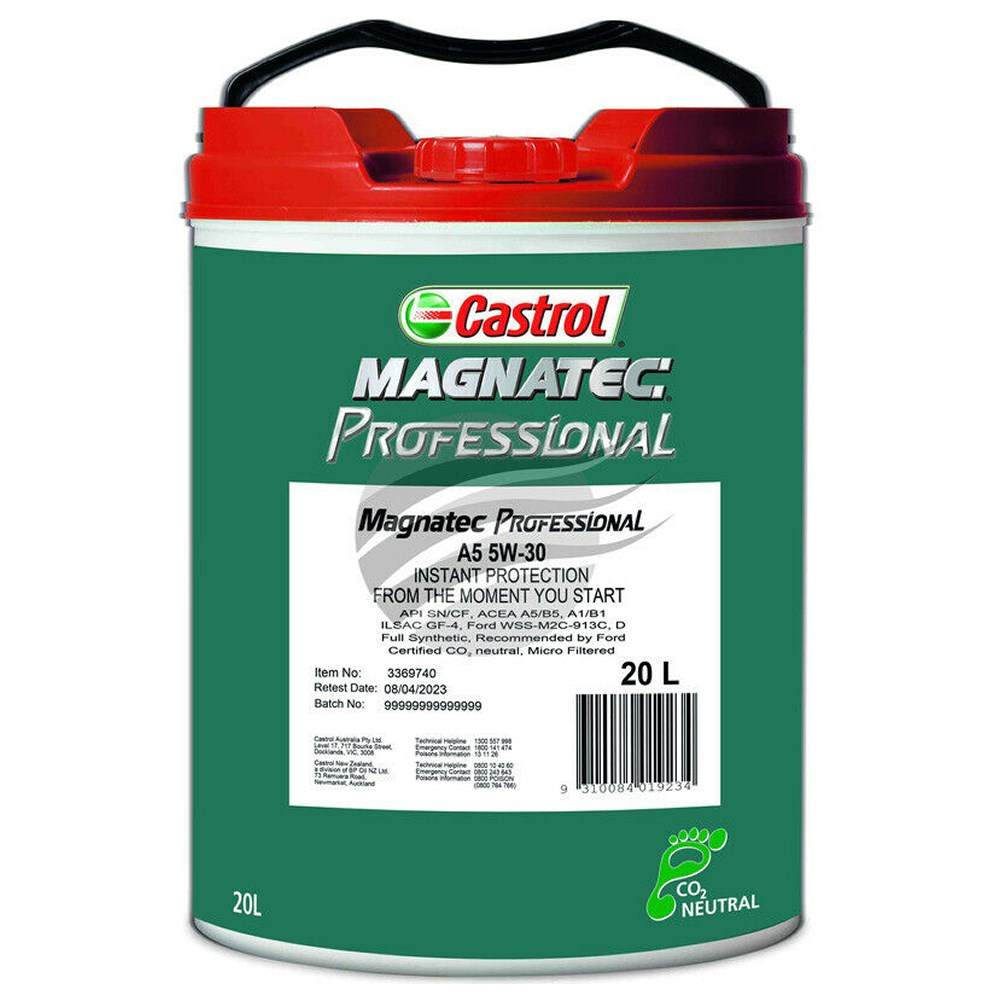 castrol magnatec 5w 30 a5 20l synthetic professional a5 b5. Black Bedroom Furniture Sets. Home Design Ideas