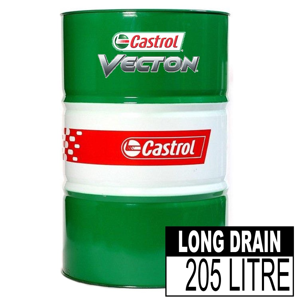 CASTROL VECTON LD 10W-40 208L FULL SYNTHETIC DIESEL ENGINE OIL EURO 4 & 5 COMPLIANT
