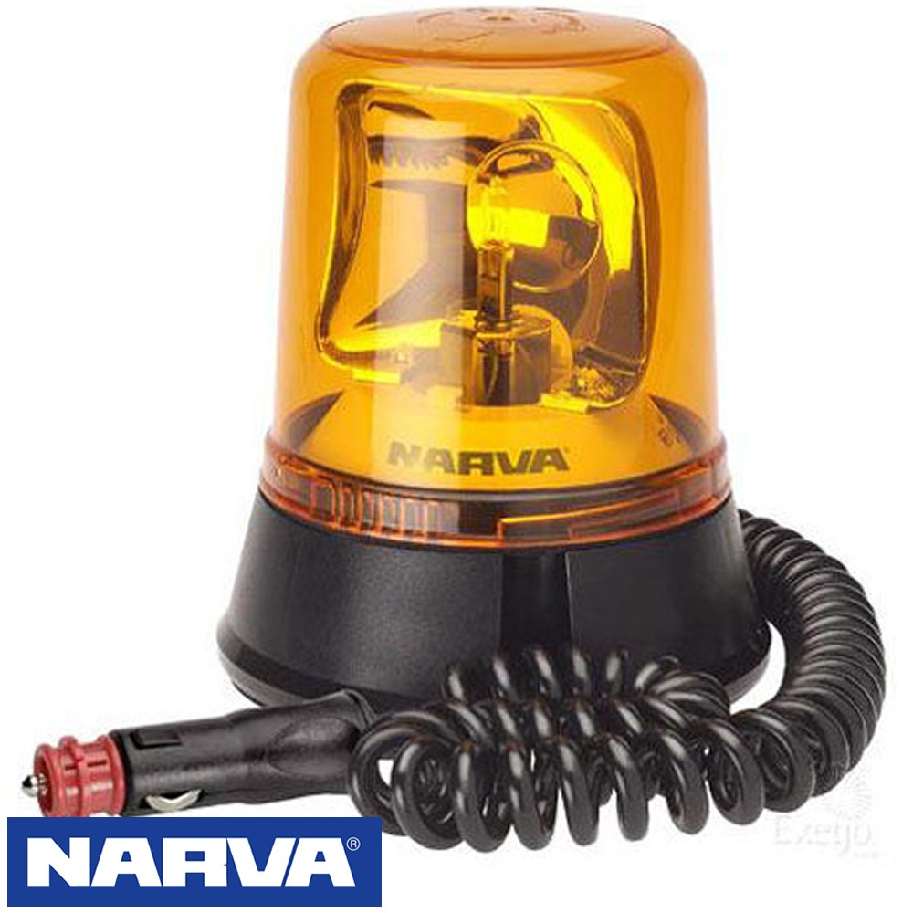 NARVA OPTIMAX ROTATING BEACON MAGNETIC 12/24V COMPATABLE SUPPLIED WITH NO GLOBE
