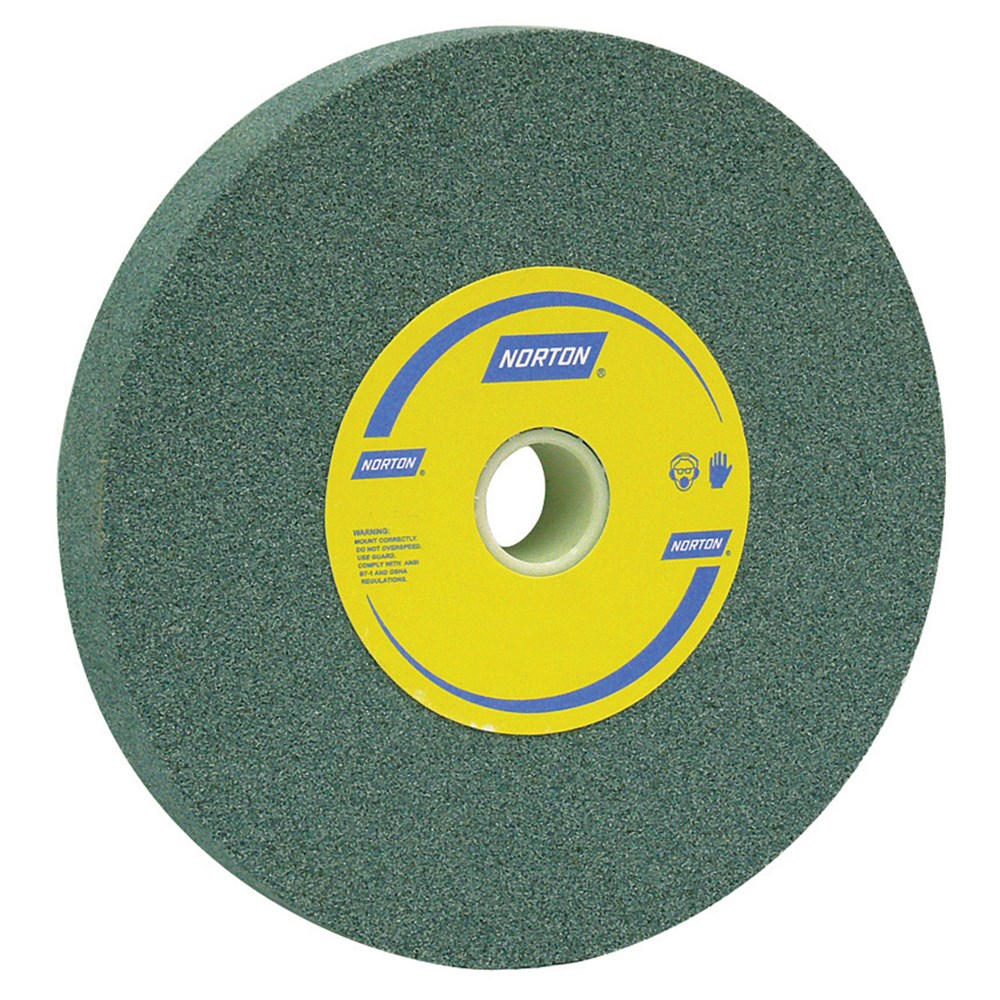 Grind Wheel 200mmx25mm C80 Grit Green Stone Suit Tungsten