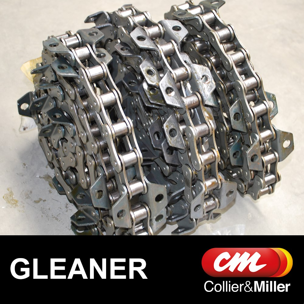 GLEANER REAR CHAINS ONLY A557 6-2/4-6 3ROW 84L 28B CHROME PIN R62 R65 R72 R75