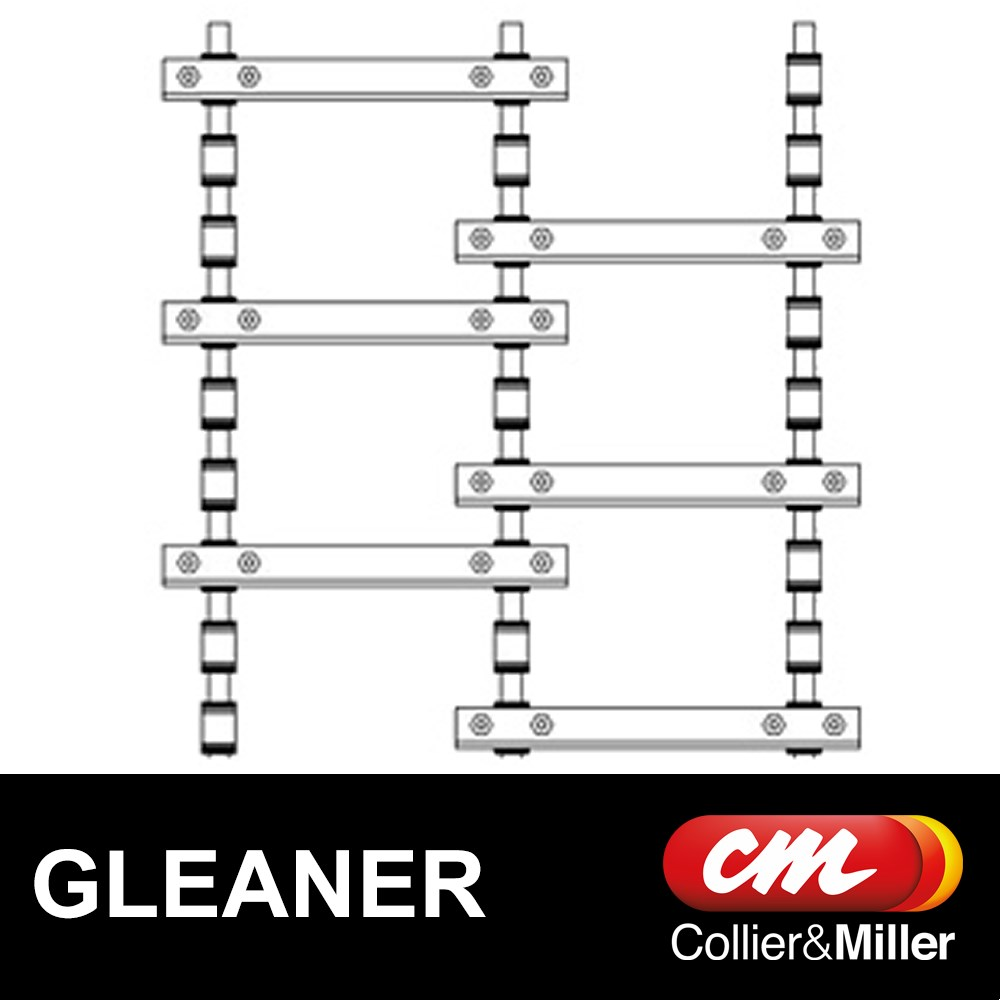 GLEANER REAR FEEDER CHAIN A557 6-2/4-6 3 ROW 84L 28B CHROME PIN R62 R65 R72 R75