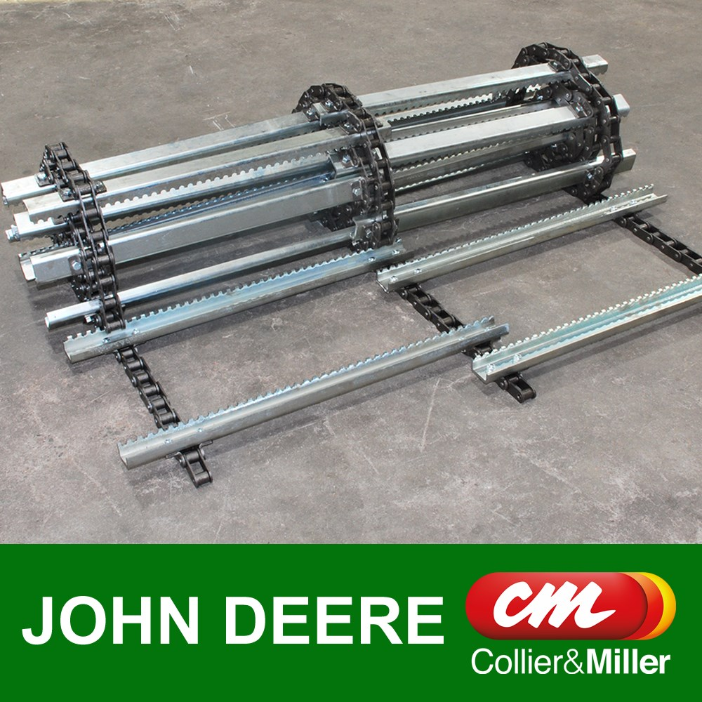 JOHN DEERE FEEDER CHAIN CHROME A557 8-6/2-8 3 ROW 112L 28B 9670 9770 9870 S SERIES