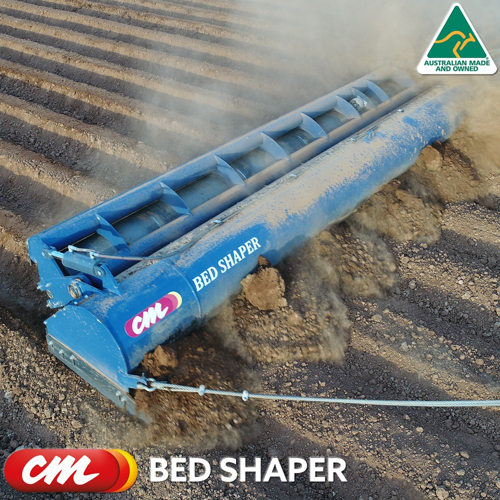 CME ROW-CROP BED SHAPER LINKAGE MOUNTED WITH ROLLER BUILT TO ORDER