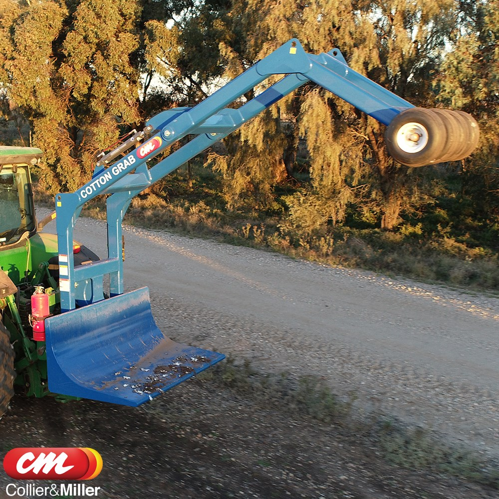 CME COTTON BALE GRAB LINKAGE MOUNTED COTTON GRAB HYDRAULIC ACTION