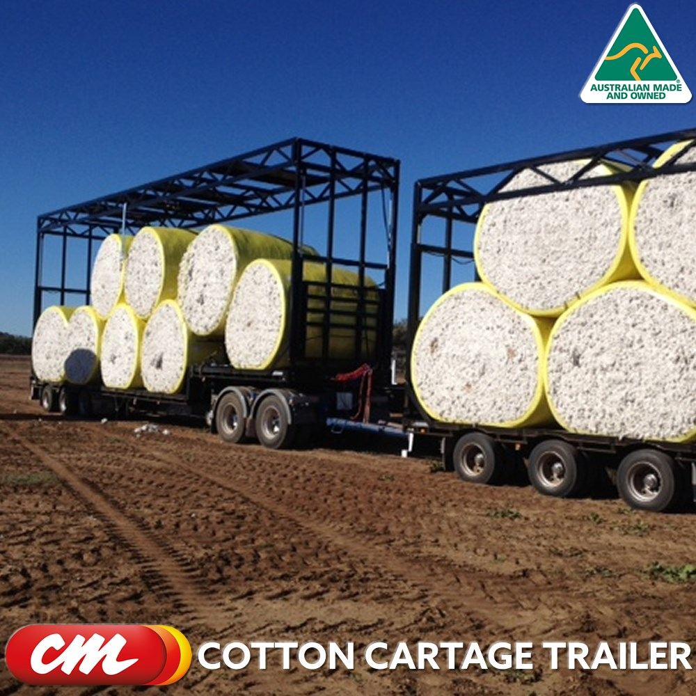 COTTON CARTAGE TRAILER FRAME APPROVED COTTON CRUSH DESIGN