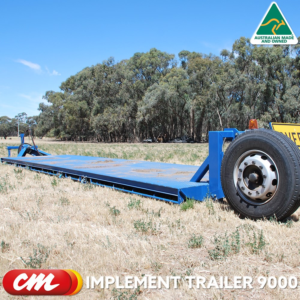 CME IMPLEMENT TRAILER 9000 DROP DECK DESIGN 2400 X 9000 METER TRAY