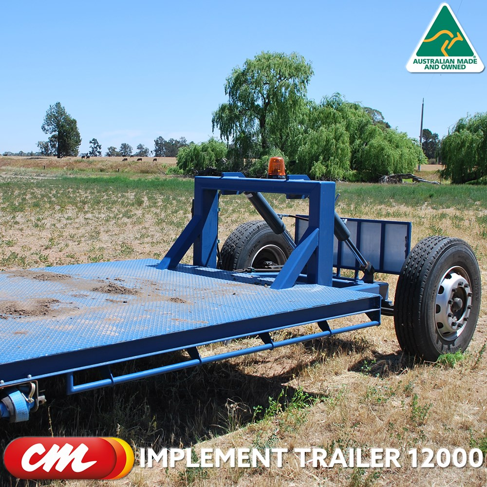 CME IMPLEMENT TRAILER 12000 DROP DECK DESIGN 2400 X 12000 METER TRAY