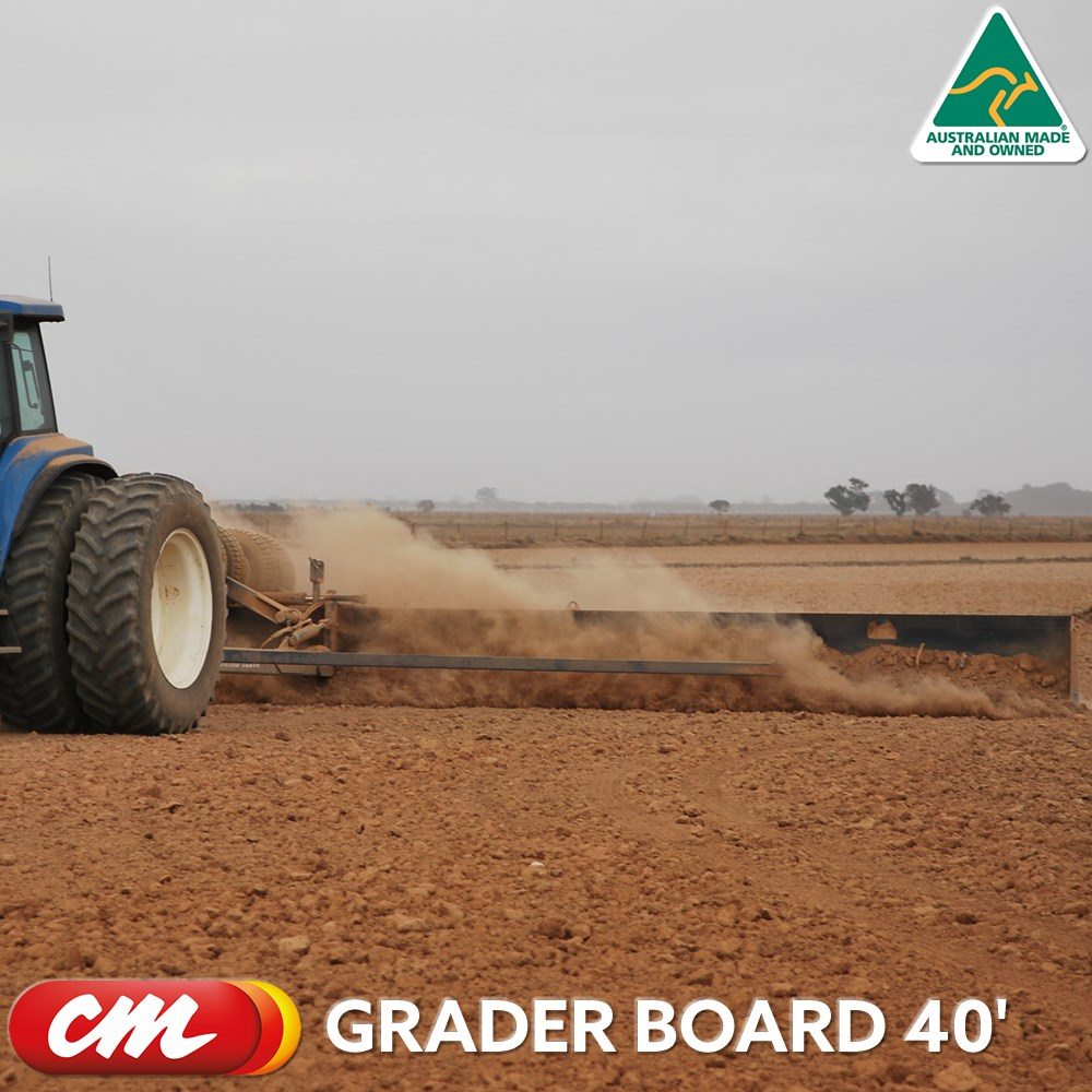 CME GRADER BOARD 40' HYDRAULIC SMUDGER BOARD
