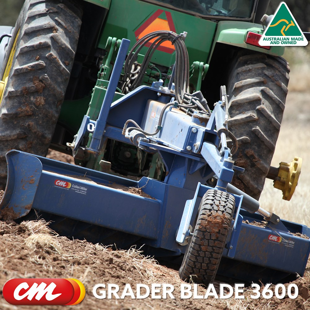 CME GRADER BLADE 3600 SERIES HEAVY DUTY LINKAGE MOUNT BACK BLADE, 12' (3600MM) BLADE