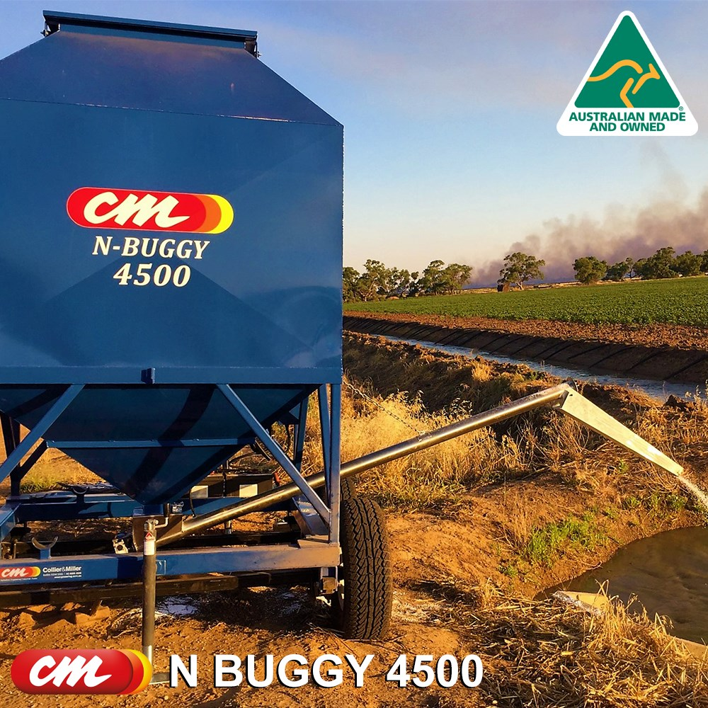 CME MAXI -N- BUGGY MOBILE UREA  AUGER DISPENSER