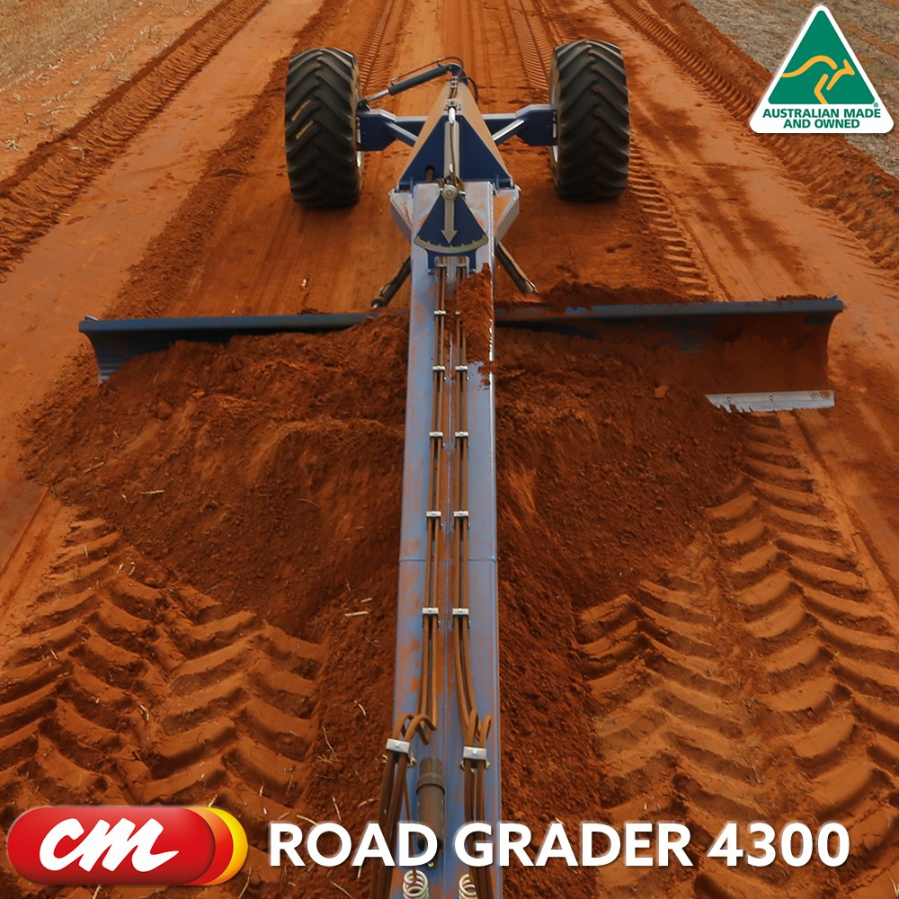 CME ROAD GRADER 4300 SERIES TOW BEHIND DESIGN 14' (4300MM) BLADE