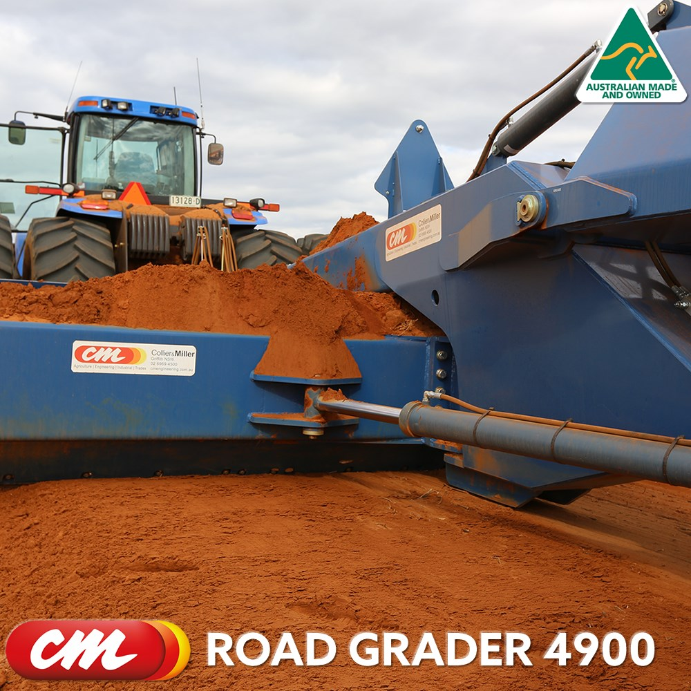 CME ROAD GRADER 4900 SERIES TOW BEHIND DESIGN 16' (4900MM) BLADE