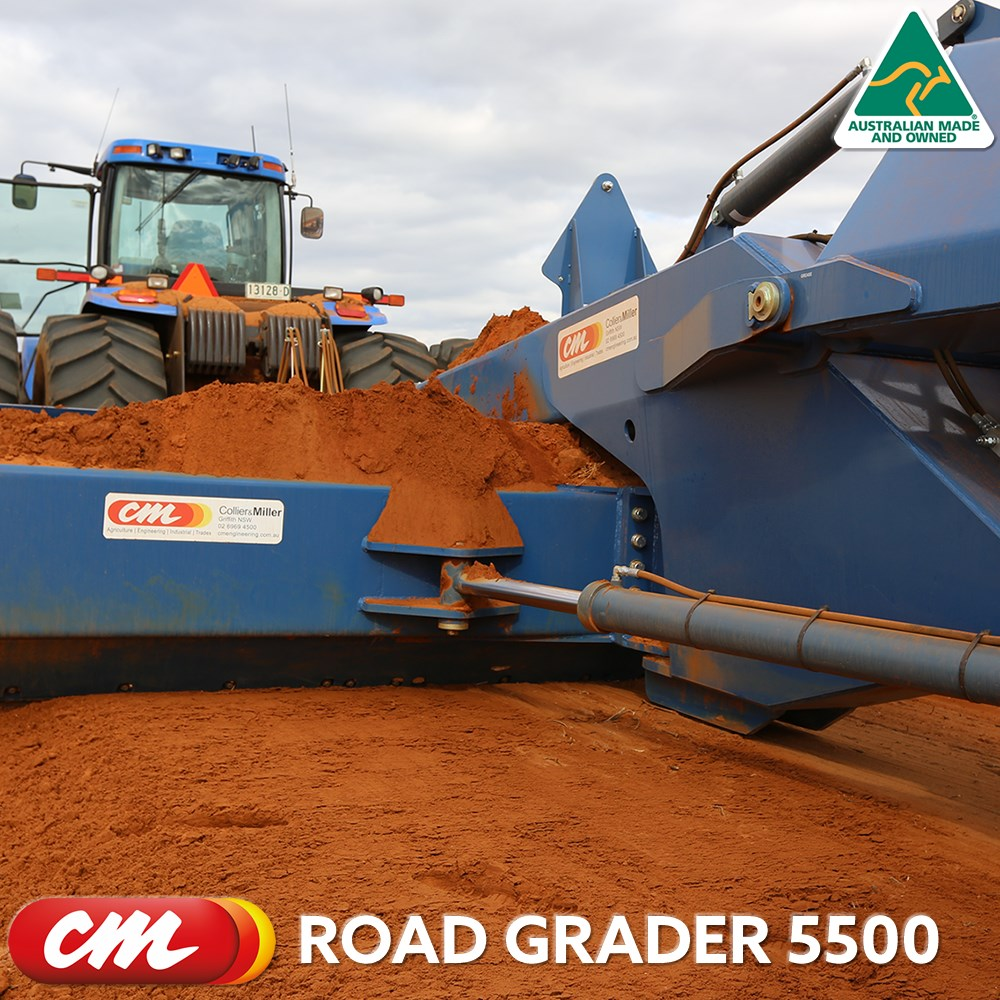 CME ROAD GRADER 5500 SERIES TOW BEHIND DESIGN 18' (5500MM) BLADE