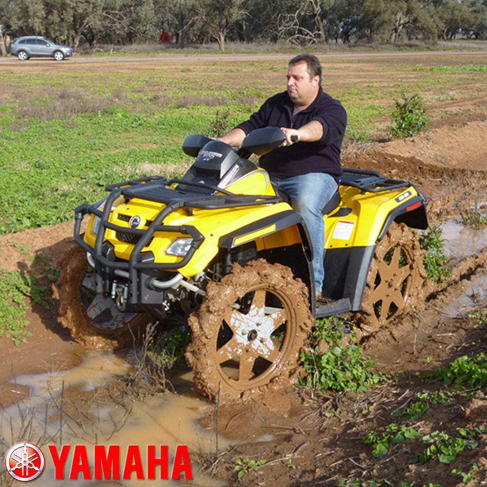 MUD WALKER TYRES YAMAHA SET OF 4 COMPLETE WITH TYRES
