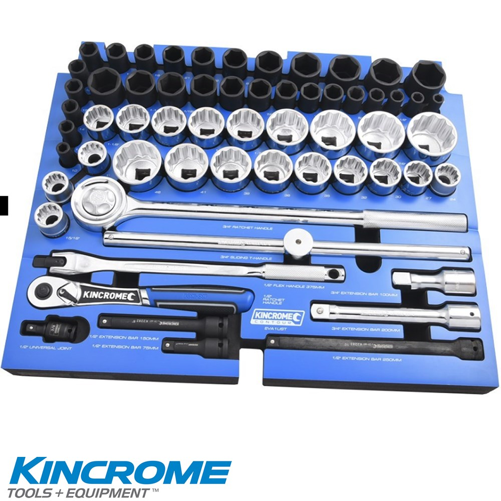 KINCROME CONTOUR TOOLKIT 179P 5 DRAWER TOOLBOX WITH TOOL TROLLEY