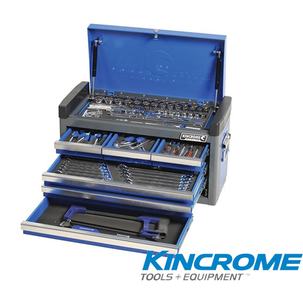 KINCROME TOOLKIT 106 PIECE 6 DRAWER EVOLVE TOOL CHEST BLUE