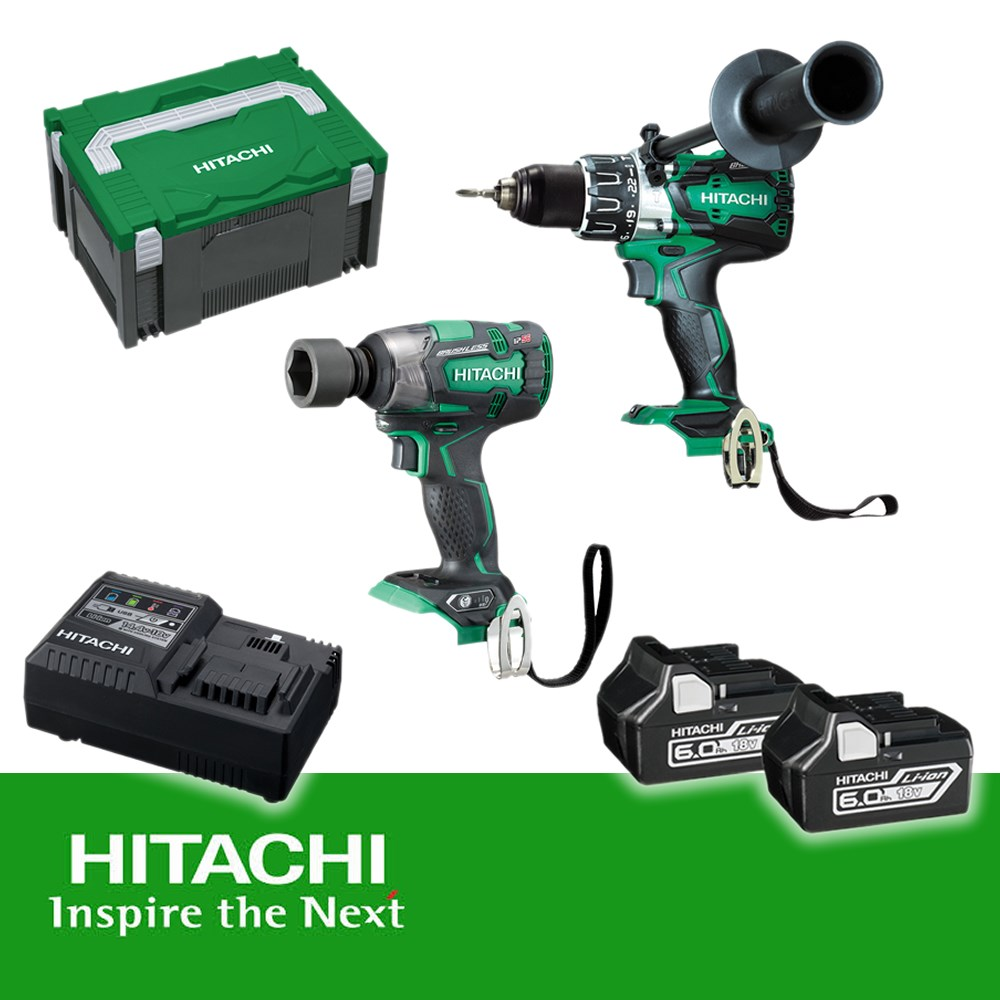 hitachi 18v battery charger instructions