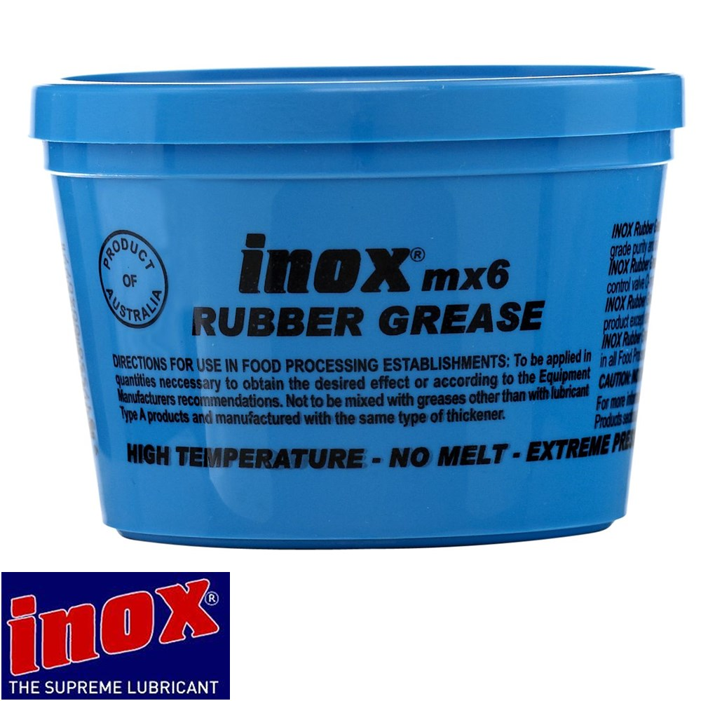 3X30Gm 3X Inox Mx6 High Temp Extreme Pressure Food Grade Machinery Grease Ptfe
