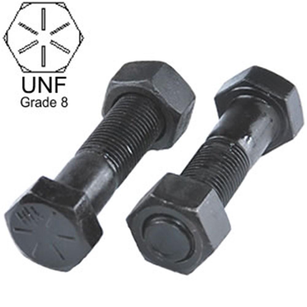 UNF BOLT NUT 9 16 X 1 2 GRADE 8 HIGH