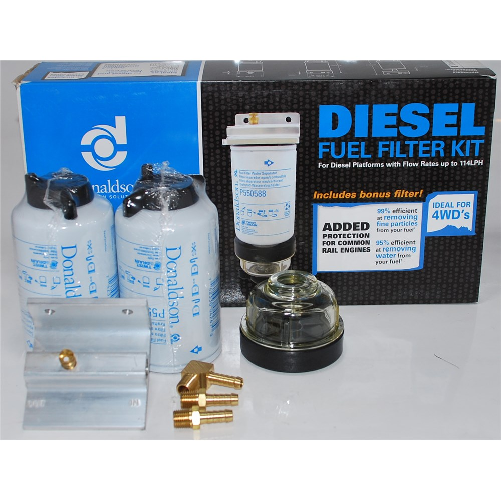 donaldson low flow fuel filter kit 4wd 39 s 114lph 11. Black Bedroom Furniture Sets. Home Design Ideas